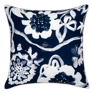 Agira Navy Outdoor Cushion - Outdoor Cushion - DYS Outdoor