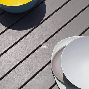Alloro Extension Table - Taupe - Outdoor Extension Table - Nardi