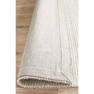 Allure Ivory Cotton Rayon Rug - Indoor Rug - Rug Culture
