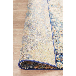 Anastasia 252 Blue Rug - Indoor Rug - Rug Culture