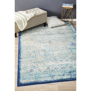 Anastasia 261 Blue Rug - Indoor Rug - Rug Culture