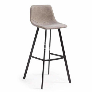 Andi Stool - Taupe PU - Indoor Counter Stool - La Forma