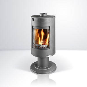 Andorra Exclusive Wood Fireplace - Indoor wood heater  - Euro