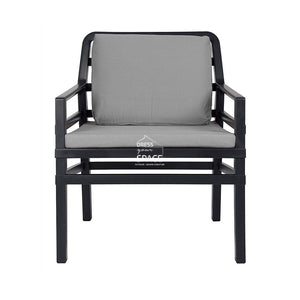 Aria 5 Piece Lounge - Anthracite - Outdoor Lounge - Nardi