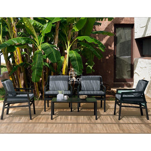 Aria Arm Chair - Anthracite - Outdoor Lounge - Nardi