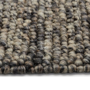 Aspen Wool Rug - Grey - Indoor Rug - Ghadamian