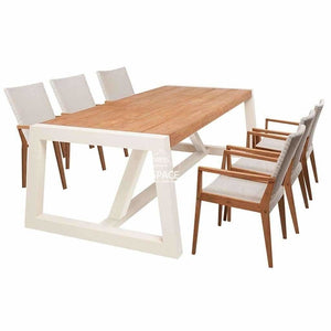 Auckland - Winton 7 Piece Set - Outdoor Dining Set - DYS Outdoor