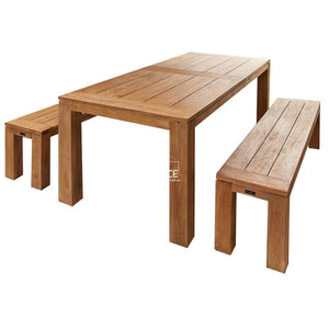 Bairo 3 Piece Set - 3 Sizes - Outdoor Dining Set - Parker Boyd