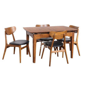 5 Piece Beatrice Extension Table & Martina Chair - Dining Set - Indoor Table - DYS Indoor
