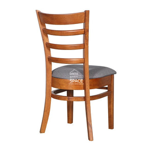 Beatrice Chair - Teak/Truffle Fabric - Indoor Dining Chair - DYS Indoor