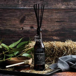 Beer Bottle Diffuser - Tobacco & Hay - Fragrance Diffuser - MOJO Candles