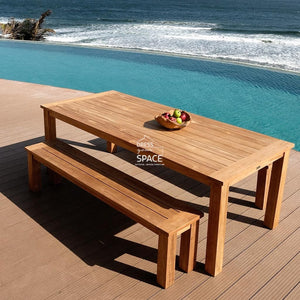 Belmont Teak Bench - Outdoor Bench - DYS Outdoor
