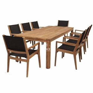 Belmont - Winton Sling Dining Set - Outdoor Dining Set - DYS Outdoor