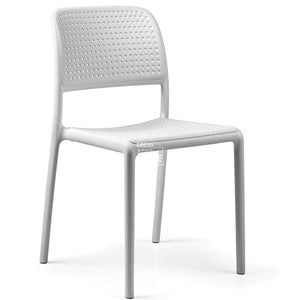 Bora Armless Chair - White - Outdoor Chair - Nardi