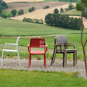 Bora Chair - White - Outdoor Chair - Nardi