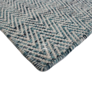 Brazil Wool Rug - Atlantic Blue - Indoor Rug - Bayliss Rugs