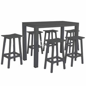 Brussels 7 Piece Bar Set - Outdoor Dining Set - DYS Outdoor
