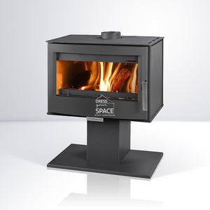 Buller Wood Heater Fireplace - Indoor Fireplace - Euro
