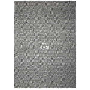 Burberry Wool Rug - Grey - Indoor Rug - Ghadamian