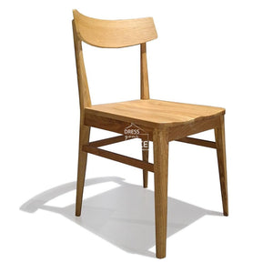 Clara Oak Chair - Natural/Natural - Indoor Dining Chair - DYS Indoor