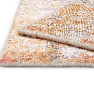 Classic 975 Orange Fine Viscose Rug - Indoor Rug - Ghadamian