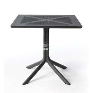 Clip X Table - Anthracite - Outdoor Table - Nardi