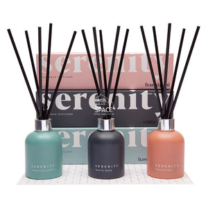 Coloured Frost -Pear & Lemon FIzz Fragrance Diffuser - Fragrance Diffuser - Serenity Candles