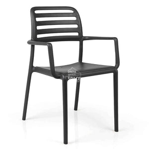 Costa Chair - Anthracite - Outdoor Chair - Nardi