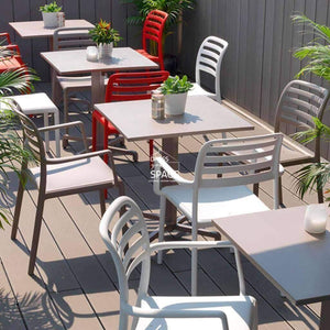 Costa Chair - White - Outdoor Chair - Nardi