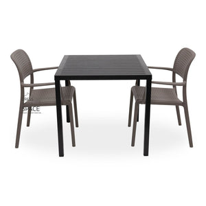 Cube - Bora Chair 3P Set - Outdoor Dining Set - Nardi