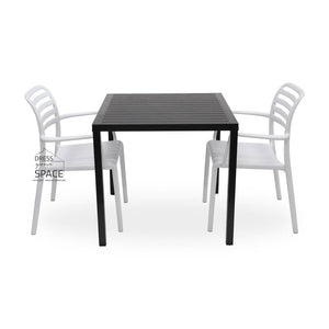 Cube - Costa Chair 3P Set - Outdoor Dining Set - Nardi