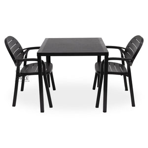 Cube - Palma Chair 3P Set - Outdoor Dining Set - Nardi