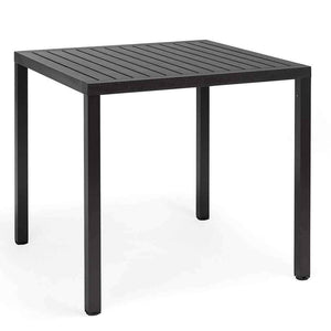 Cube Table - Anthracite - Outdoor Cafe Table - Nardi