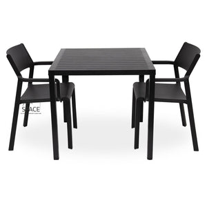 Cube - Trill Chair 3P Set - Outdoor Dining Set - Nardi
