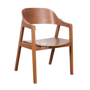 Dakota Chair - Teak/Teak - Indoor Dining Chair - DYS Indoor
