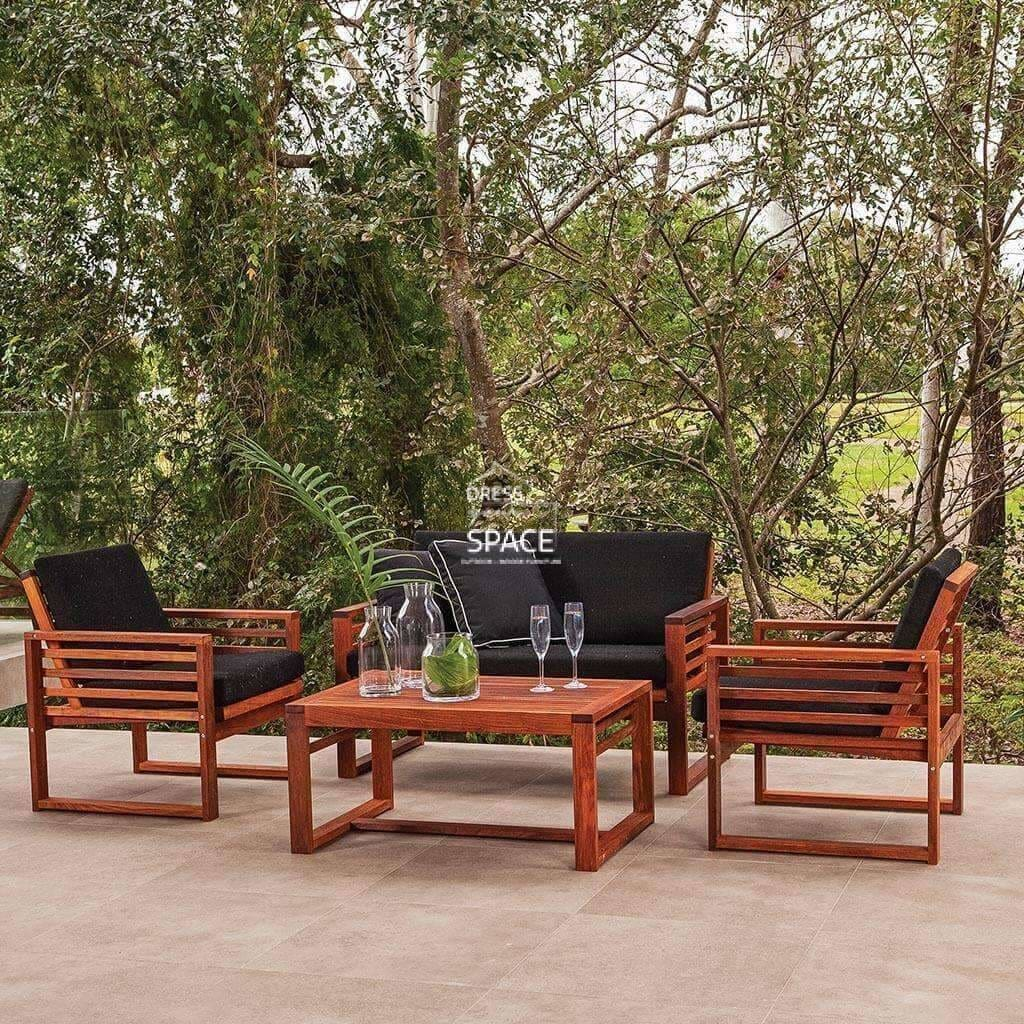 Buy Denver 4 Piece Deep Seat By Dys Outdoor Fast Shipping Australia Dress Your Space