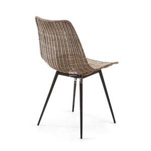 Equal Chair - Rattan - Indoor Dining Chair - La Forma