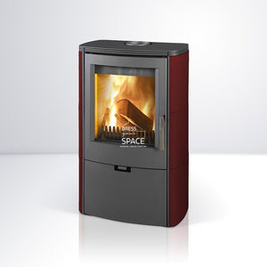 Falun Ceramic Wood Fireplace - Indoor Fireplace - Euro
