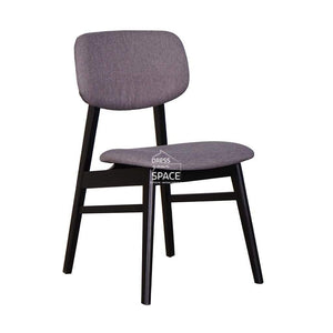 Gemma Chair - Black/Truffle - Indoor Dining Chair - DYS Indoor