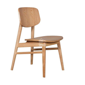 Gemma Chair - Natural/Natural - Indoor Dining Chair - DYS Indoor
