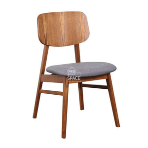 Gemma Chair - Teak/Truffle - Indoor Dining Chair - DYS Indoor