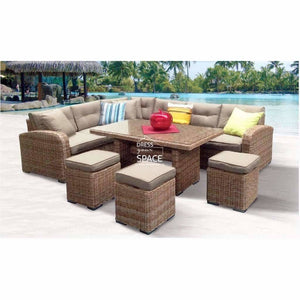 Geneva 6 Piece Lounge - Marina - Outdoor Lounge - DYS Outdoor