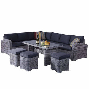 Geneva 6 Piece Lounge - Zen White - Outdoor Lounge - DYS Outdoor