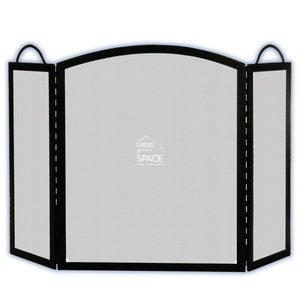 Geronimo 3 Panel Firescreen - Fireplace Guard - DYS Fireplace Accessories