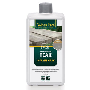 Golden Care - Hardwood & Teak Instant Grey - Furniture Care & Accessories - Golden Care