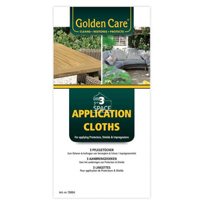 Golden Care - White Application Cloths (Set of 3) - Furniture Care & Accessories - Golden Care