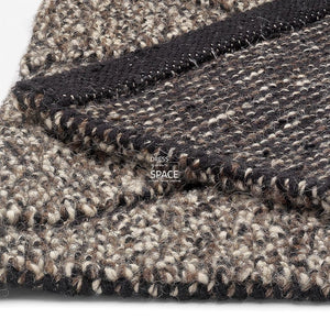 Harmony Chocolate Wool Rug - Indoor Rug - Ghadamian