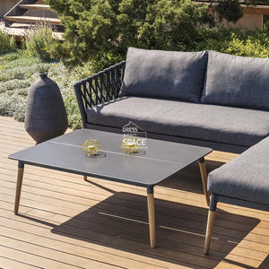 Ipanema Chaise Lounge + Coffee Table - Outdoor Lounge - Lifestyle Garden