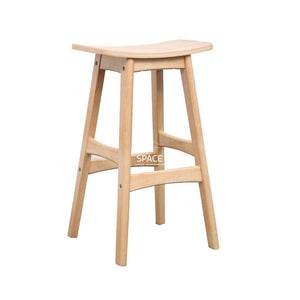 Jackie Stool - Natural/Natural Ash - Indoor Counter Stool - DYS Indoor