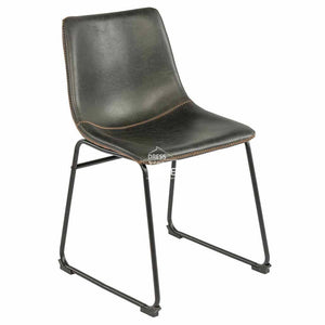 Karla Chair - Black PU - Indoor Dining Chair - DYS Indoor
